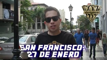 San Francisco   (27 d enero 2012) [Behind the Scenes] - De La Ghetto