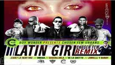 Latin Girl  (Remix) - De La Ghetto