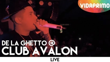 Club Avalon, Pereira   (Vivo) [Behind the Scenes] - De La Ghetto