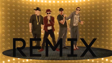 La Pelea (Remix) (Reggaeton) [Lyric Video] - J King y Maximan