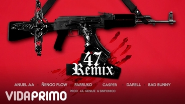 47 (Remix) [Official Audio] - Anuel AA