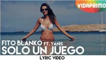 Solo Un Juego  (Official Lyric Video) [Lyric Video] - Fito Blanko